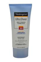 Ultra Sheer Dry-Touch Sunblock SPF 30 by Neutrogena for Unisex - 3 oz Sunblock - $48.99