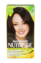 Nutrisse Nourishing Color Creme #10 Black by Garnier for Unisex - 1 Application  - $49.49