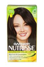 Nutrisse Nourishing Color Creme #10 Black by Garnier for Unisex - 1 Application  - $49.49