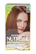 Nutrisse Nourishing Color Creme #60 Light Natural Brown by Garnier for Unisex -  - $49.49