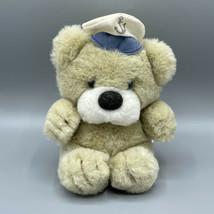 "Russ Berrie 7"" Admiral Teddy Bear Plush Sailor Nautical 512 Vintage - $14.84"