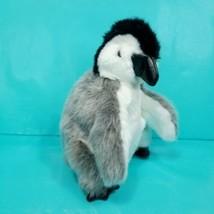 "Folkmanis Folktails Plush Hand Puppet Baby Emperor Penguin 9"" Arctic Gray  - $21.77"