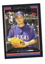 2006 Topps BLACK BORDER PARALLEL Akinori Otsuka TEXAS Rangers  SERIAL #5... - $13.99