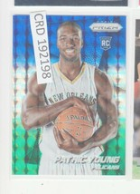 2014-15 Panini Prizm Prizms Blue and Green Mosaic Card #290 Patric Young... - $1.48