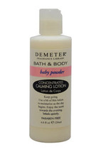 Baby Powder by Demeter for Women - 4 oz Calming Lotion - $49.69