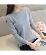 OHCLOTHING The fall of the new Korean women slim cotton Crewneck sweater... - €23,34 EUR
