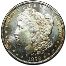 1879S MORGAN $1 SILVER ONE DOLLAR Proof Like Coin Lot EA 263