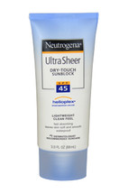 Ultra Sheer Dry Touch Sunblock SPF 45 by Neutrogena for Women - 3 oz Sunblock - $50.99