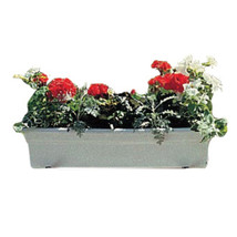 Novelty White Countryside Flowerbox 24 Inch 026978162427 - $18.86