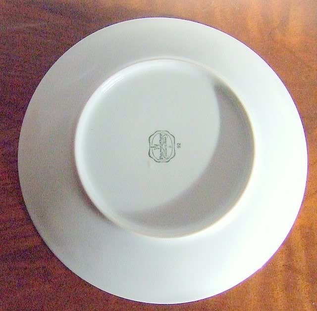 BAREUTHER Bavarian Porcelain Display Plate .
