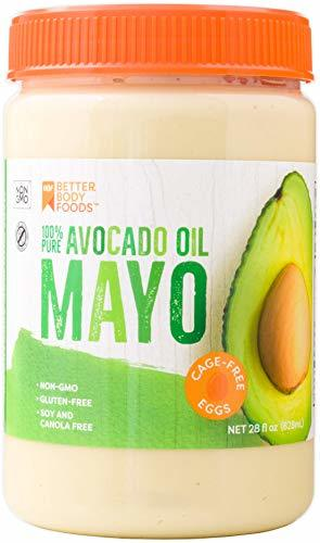 BetterBody Foods Avocado Oil Mayonnaise Avocado Oil Mayo is made with 100% Avoca