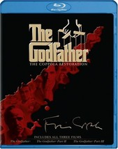 The Godfather Collection (The Coppola Restoration) (Blu-ray Disc, 2008, 4-Disc)