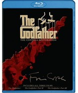 The Godfather Collection (The Coppola Restoration) (Blu-ray Disc, 2008, ... - $17.95