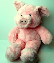 Pig Pink Piggy Plush Doll Toy Sugar Loaf - $13.32