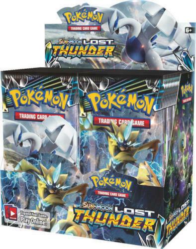 Pokemon TCG Sun & Moon Unbroken Bonds + Lost Thunder Booster Box Bundle