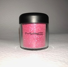 Mac Crystalled Pink Glitter Pigment Full Size New No Box Very Rare 7.5g - $39.99