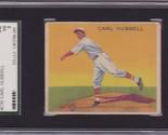 Carl hubbell 1933 goudey  230 sgc 40 vg 3 thumb155 crop