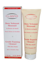 Gentle Foaming Cleanser With Shea Butter (Dry/ Sensitive Skin) by Clarins for Un - $62.49