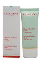 Pure and Radiant Mask With Pink Clay by Clarins for Unisex - 1.7 oz Cleanser - $62.99