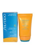 Tanning Cream SPF 6 (For Face) by Shiseido for Unisex - 50 ml Sun Care - $64.99