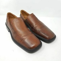 ECCO City Mens Loafers Slip-On  Shoes Brown Leather 12 EUR 46 M - $31.99