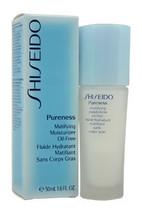 Pureness Matifying Moisturizer Oil-Free by Shiseido for Unisex - 1.7 oz Moisturi - $69.99