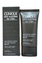 Skin Supplies For Men by Clinique for Men - 1.7 oz SPF Hydrator - $72.99