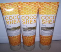 3 Bath & Body Works Coco Shea Honey Incredibly Creamy Body Wash 10 oz ea - $31.50