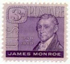 1958 3c President James Monroe, 200th Birth Anniversary Scott 1105 Mint ... - $0.99