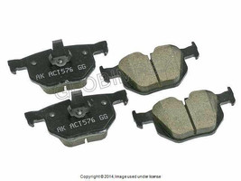 BMW Rear Brake Pads E60 E61 525 525i 525xi 530 530i (2004-2009) AKEBONO ... - $90.95