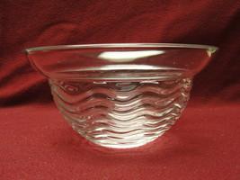 "Rosenthal Crystal - Studio Line / Waves Pattern - 7.5"" Round Bowl - $36.95"