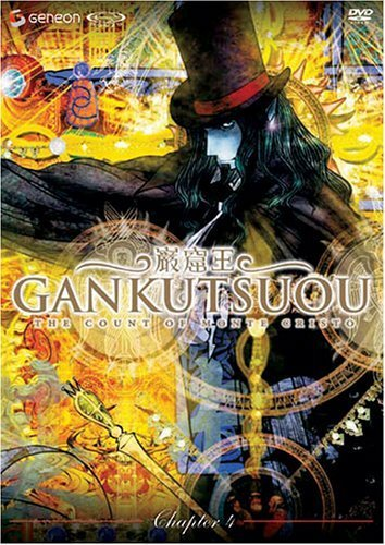 Gankutsuou: The Count of Monte Cristo Vol. 04 DVD Brand NEW!