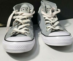LEATHER Converse All Star GRY Leather Chuck Taylor Shoes Mens Size 13 - $42.99