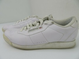 Reebok Classic Princess Athletic Casual Sneakers Women Size 10 White 2-1475 - $10.30