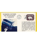WORKING OUTSIDE SPACECRAFT 51-I KENNEDY SPACE CENTER FL AUGUST 30 1985  - $1.98