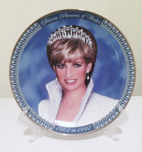 """Franklin Mint Diana Princess of Whales Porcelain Collector Plate 8.25"""" - $15.84"""