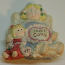 Gentle Expressions Collection Heart Tugs Love is Gentle Angel doll Magnet - $14.95