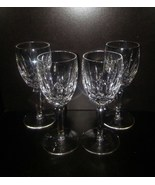 4 Waterford Crystal Kildare pattern sherry glassses    - $100.00