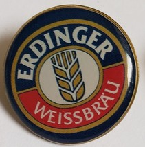 Erdinger Weissbrau Bewer Pin, 1 x 1, vintage - $4.95
