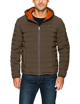 Tommy Hilfiger Men's Ultra Loft Quilted Stretch Hooded Puffer Jacket - C... - $103.99+