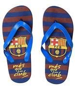 fc barcelona,bassket.com F.C Barcelone Flip Flop Sandals for Boys,4 Diff... - $6.99