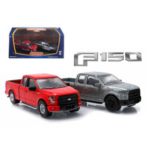 2015 Ford F-150 Pickup Trucks Hobby Only Exclusive 2 Cars Set 1/64 Dieca... - $37.93