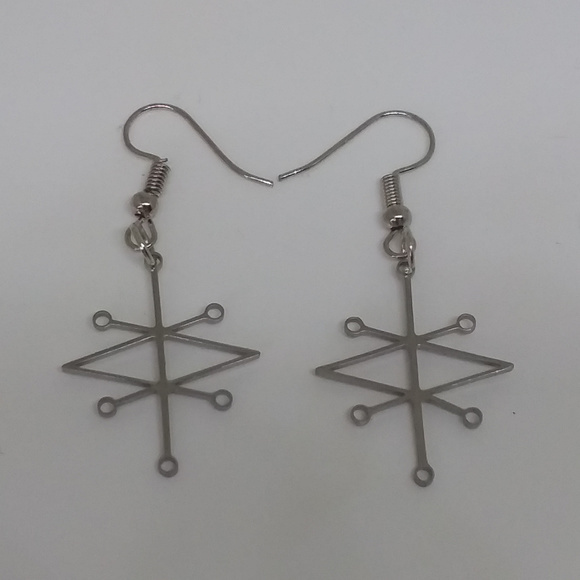 Sigil of Azazel 2pcs Earrings Set
