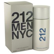 NEW Carolina Herrera 212 MEN NYC 6.7 6.8 oz Eau De Toilette Spray NIB 20... - $88.80