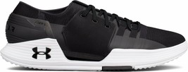 Under Armor UA 1295773-001 Speedform AMP 2 Black Training Shoes Sneakers 13 - $71.99