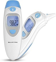 SMARTRO Ear and Forehead Thermometer for Fever, Digital Medical Infrared Thermom