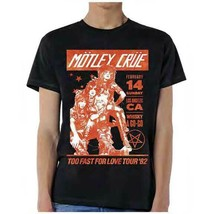 New MOTLEY CRUE WHISKEY A GO GO  T Shirt - $20.99
