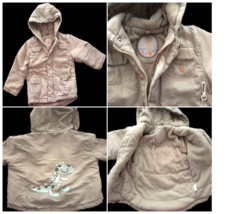 HIGH QUALITY Little Dino Winter/Fall Beige Coat Jacket for Toddlers Unis... - $15.98