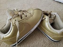 Nike Infant Unisex Boys Girls Golden Fashion Booties Sneaker Shoes Sz 7C - $28.66