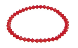 Swarovski Women's Red Adjustable Bracelet with Crystals - $16.95